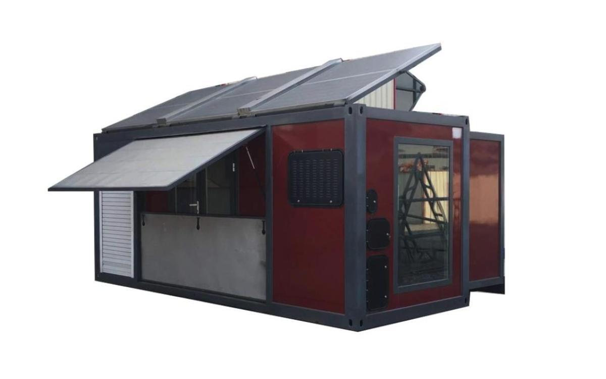 Amazon vende una mini casa prefabricada por 37.000 dólares que se expande cuando aprietas un botón: así es por dentro