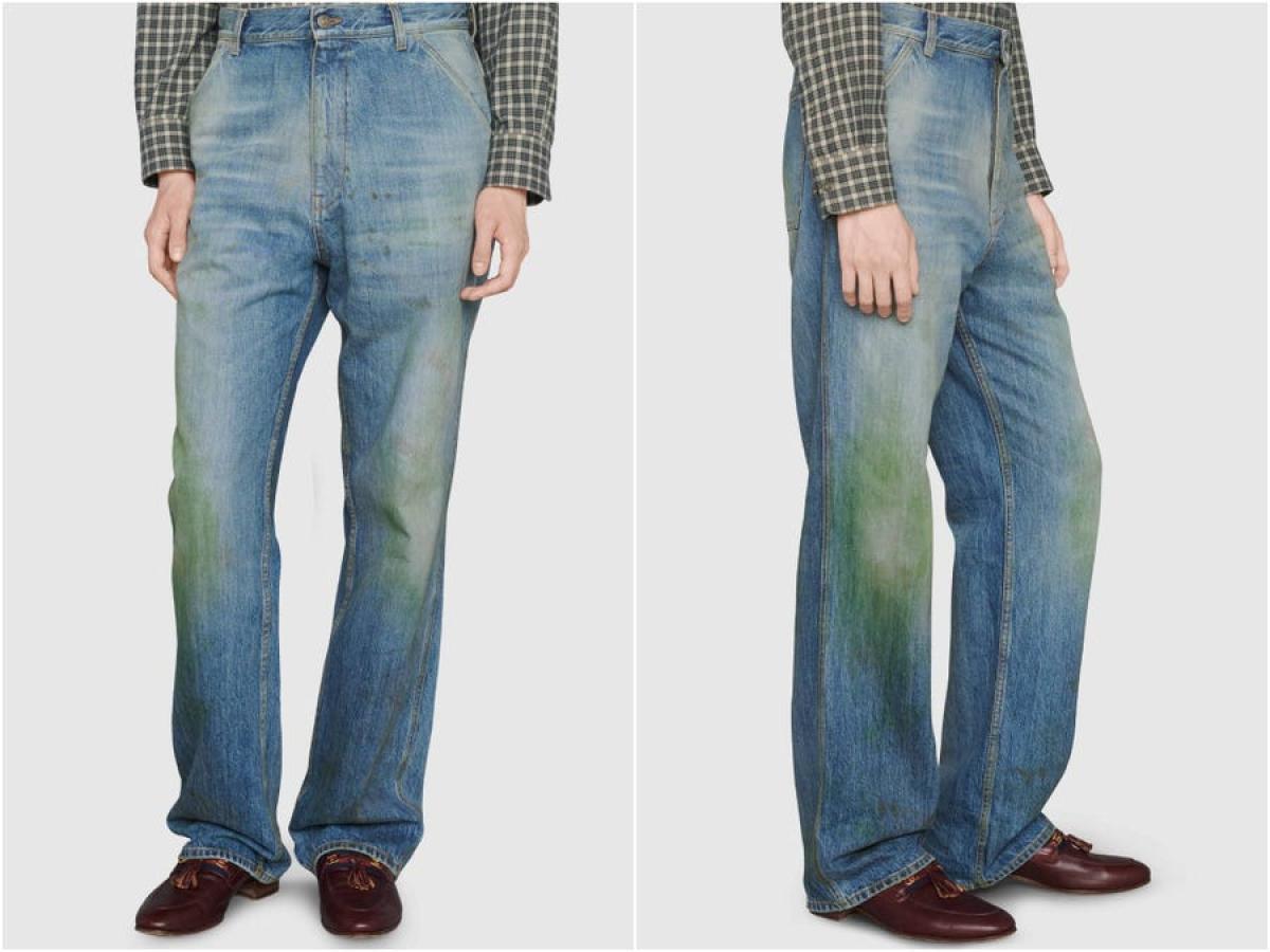 Pantalones Manchados De Hierba De Gucci Por 700 Euros Business Insider Espana