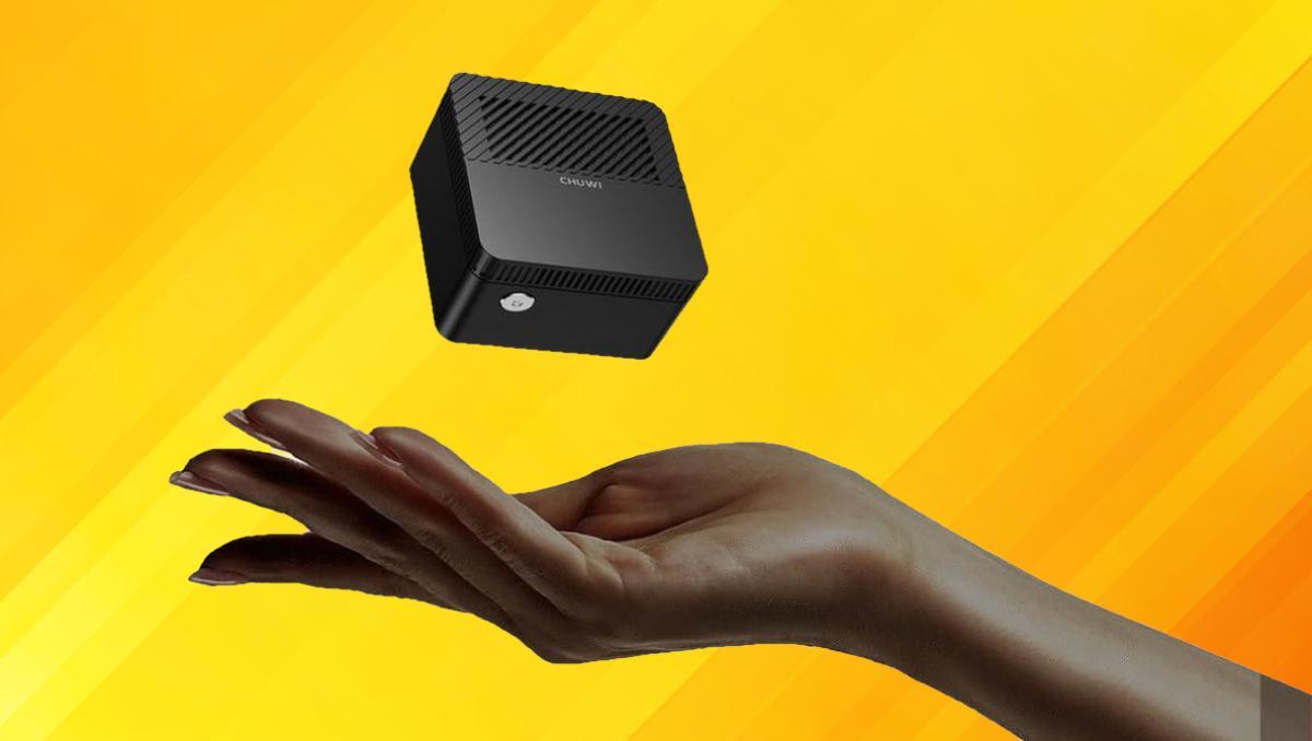 Ya puedes conseguir un Mini PC que te cabe en la palma de la mano y que lleva Windows 10 por menos de 200 euros