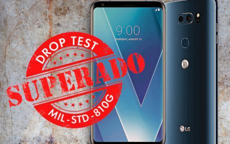LG V30 ha superado el test de resistencia