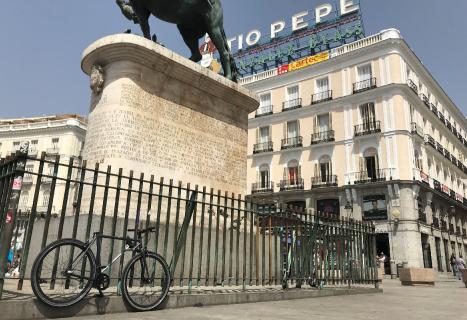 Yerka aparcada en Madrid