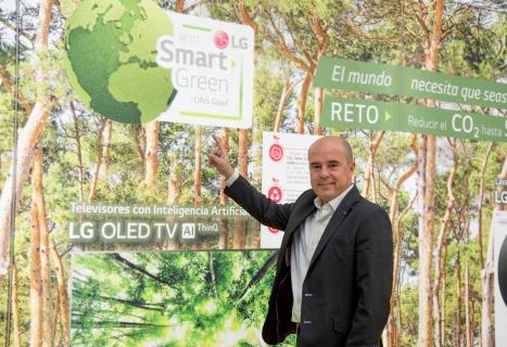 Jaime de Jaraiz Lozano, presidente de LG Electronics Iberia