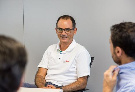 Javier González Pareja, presidente de Bosch para España y Portugal.