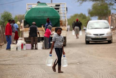 Sequía en Graaff-Reinet, Sudáfrica