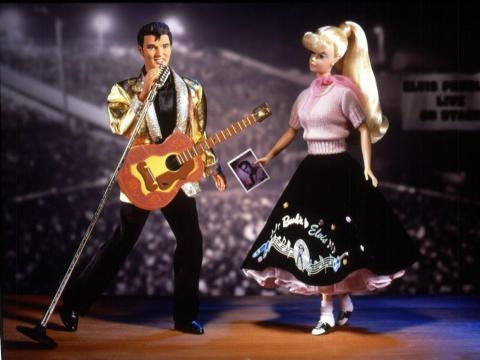 Barbie y Elvis