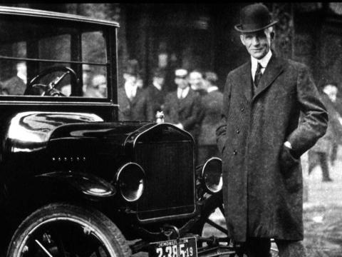 Henry Ford ya usaba productos a base de soya a principios de la década de 1940.