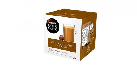 Café con leche Dolce Gusto de 48 cápsulas