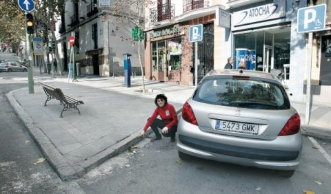 plaza discapacitado madrid