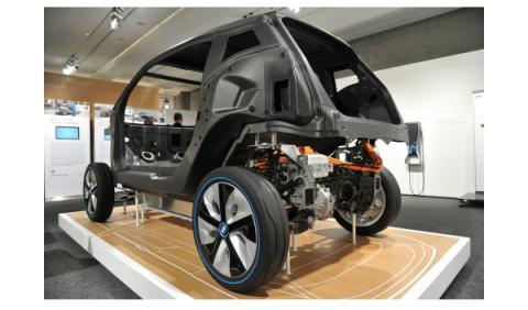 En la fábrica del BMW i3