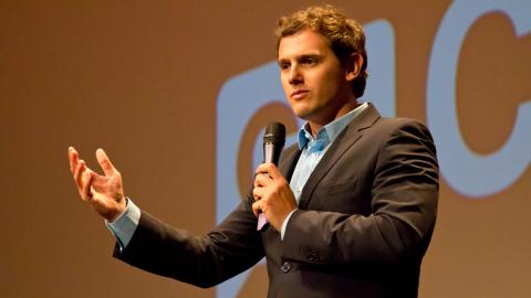 Albert Rivera, de político a copiloto en la Baja Aragón