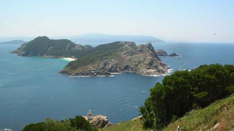 Islas Cíes, Galicia.