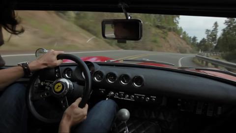 7 minutos de puro placer a bordo de un Ferrari 250 GTO