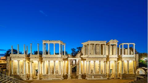 teatro romano merida badajoz