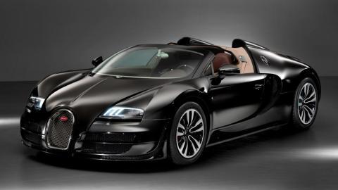 Bugatti Veyron Jean Bugatti legendes lujo negro