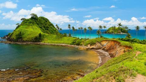 Playa de Nacpan - Filipinas
