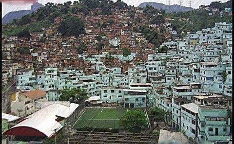 Favela Morro da Mineira, Río de Janeiro (Brasil)