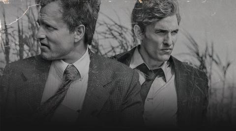Matthew McConaughey y Woody Harrelson en True Detective
