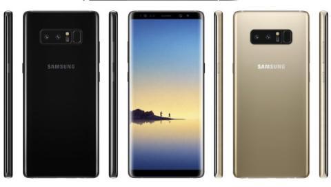 Características del Samsung Galaxy Note8.