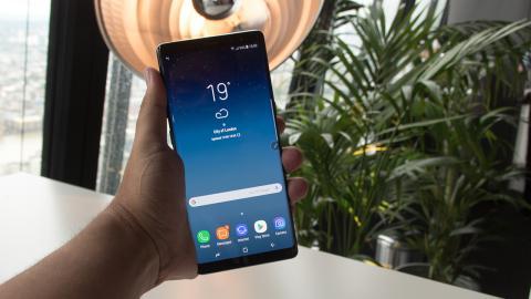 Galaxy Note 8 Toma de contacto
