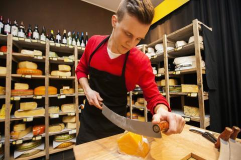 Tienda de quesos en Estonia