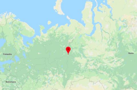 Ubicación Paso Diatlov | Google Maps