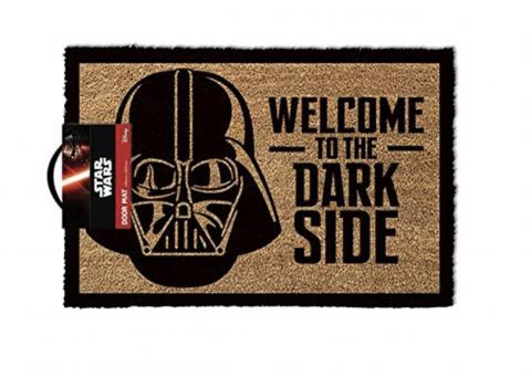 alfombrilla puerta darth vader star wars