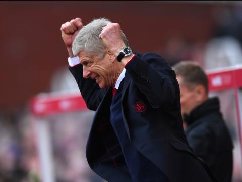 Arsene Wenger, entrenador de fútbol del Arsenal.