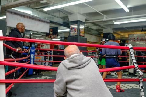 Así es Gleason's, el famoso gimnasio de boxeo en el que entrenó Muhammad Ali.