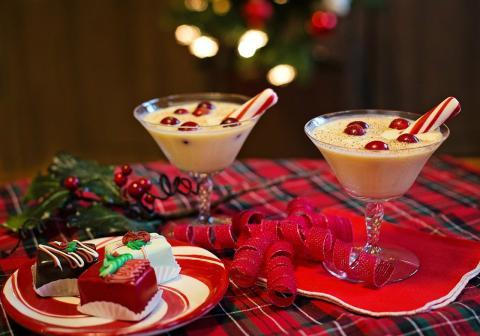 batido de turron receta navidad facil sencilla