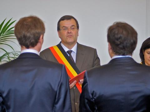 Boda homosexual en Lieja (Bélgica)