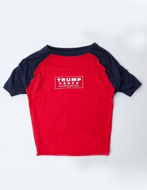 Camiseta para perros de Trump