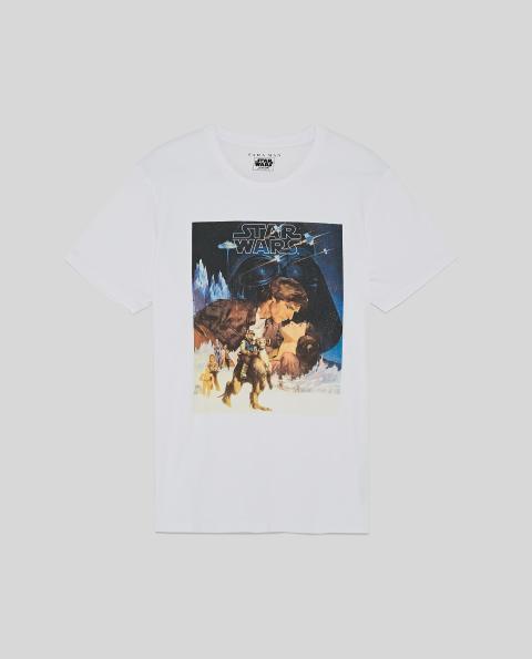 Camiseta Zara vintage Star Wars