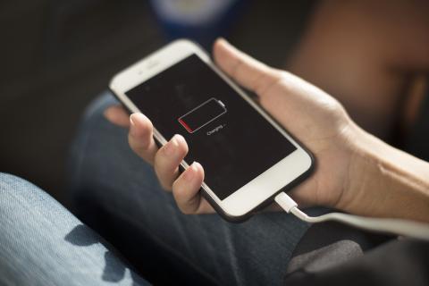 Cargando el iPhone