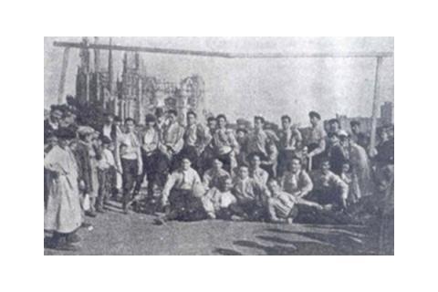 clásicos: primer campo del Espanyol,