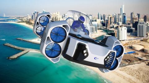 Coches Voladores Futuro