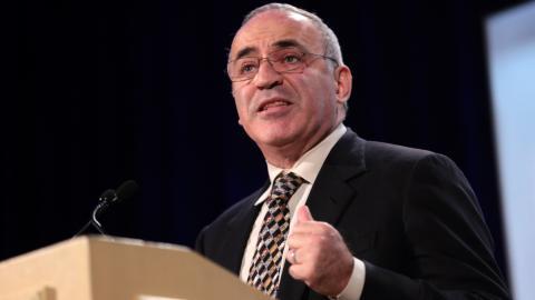 deportistas políticos: Gary Kasparov