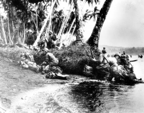 Desembarco en Guadalcanal durante la IIGM