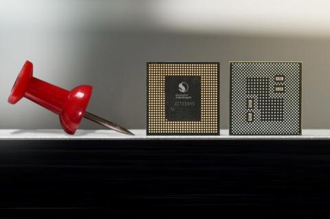 Así de pequeño es el chip Snapdragon 845