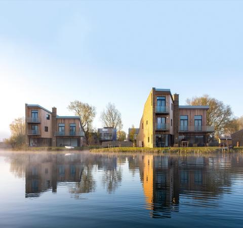 Dos casas Habitat Lago Spinney