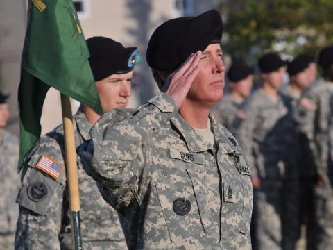 Dos soldados estadounidenses