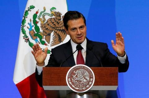 El presidente mexicano Enrique Peña Nieto defiende sus medidas contra la criminalidad