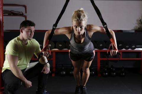 Entrenador del gimnasio