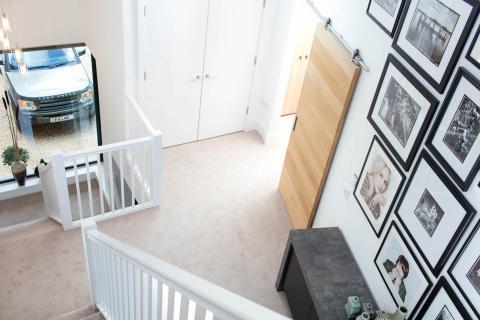 Escalera Casa Habitat Lago Spinney