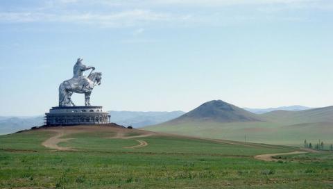 Estatua Gengis Kan