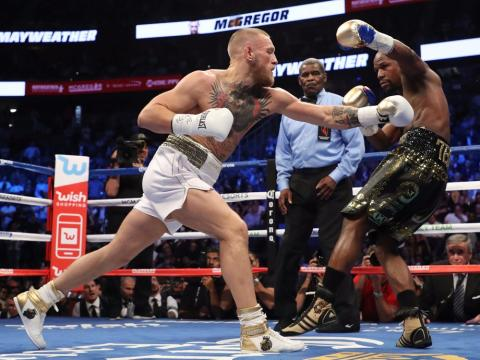 eventos deportivos 2017 pelea mayweather mcgregor