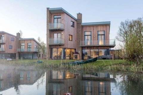 Fachada 2 casa Habitat Lago Spinney