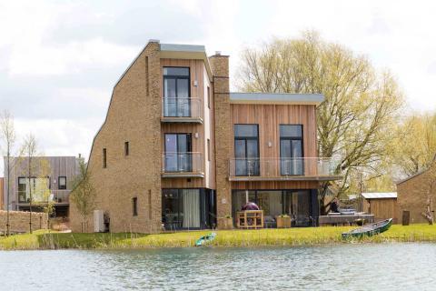 Fachada casa Habitat Lago Spinney