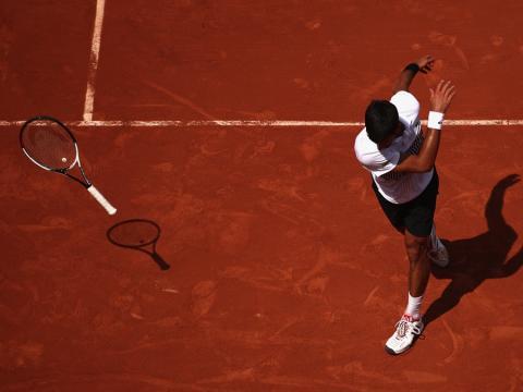 fotos deporte 2017: Esto resume el año de Novak Djokovic en las canchas de tenis