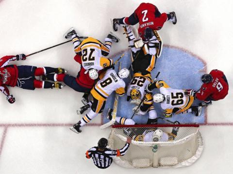 fotos deporte 2017: El Hockey es un caos organizado