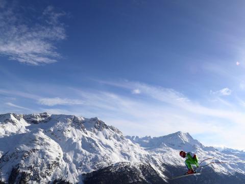 fotos deporte 2017: Toda una panorámica en el Campeonato Mundial de Esquí en Suiza en febrero